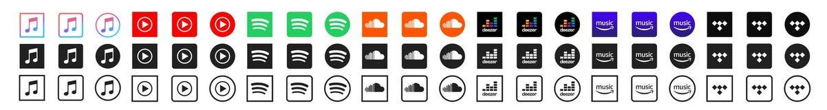 Amazon music vs spotify vs deezer