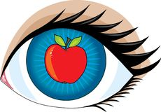Apple of my Eye stock illustration