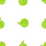 Apple nahtlos Lizenzfreie Stockfotos