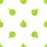 Apple nahtlos Lizenzfreies Stockbild
