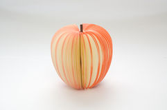 Apple notepad Royalty Free Stock Photo