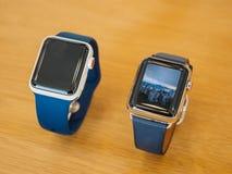 Apple novo olha a série 3 fae digitais New York Fotografia de Stock Royalty Free