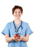 Apple nurse Stock Images