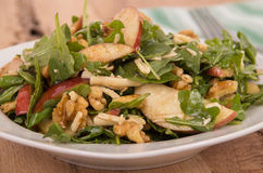 Apple and nut salad Royalty Free Stock Photos