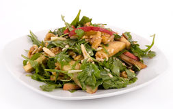Apple and nut salad Royalty Free Stock Images