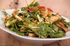 Apple and nut salad Stock Image