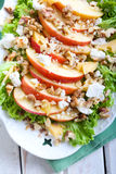 Apple and nut salad Stock Photos