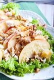 Apple and nut salad Royalty Free Stock Image