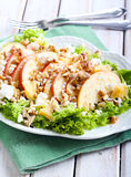 Apple and nut salad Stock Photo