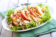 Apple and nut salad Royalty Free Stock Photography