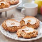 Apple Oat Cookies Stock Photography