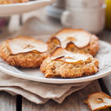 Apple Oat Cookies Royalty Free Stock Photography