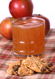 Apple Oatmeal Cookies Stock Photo
