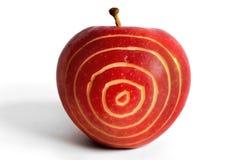 Apple-obiettivo Fotografia Stock Libera da Diritti