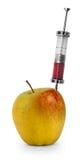 Apple OGM Photographie stock libre de droits