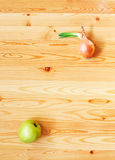 Apple and onion Royalty Free Stock Image