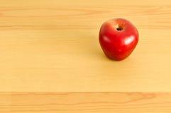Apple op de lijst Stock Fotografie