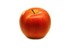 Apple op een wit fruit als achtergrond Stock Foto's