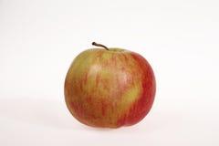Apple op witte achtergrond Stock Afbeelding