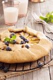 Apple open pie Stock Photos