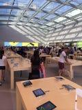 Apple-opslagsanta Monica Californië Royalty-vrije Stock Afbeeldingen