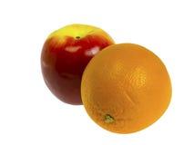 Apple&Orange Stock Images