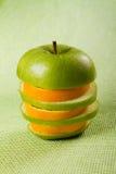 Apple orange Royalty Free Stock Photos