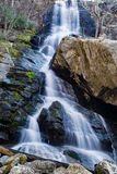 Apple Orchard Waterfalls. A view of Apple Orchard Waterfalls located in the Blue Ridge Mountains of Virginia, USA royalty free stock photo