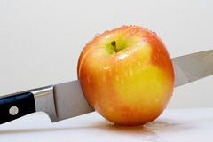 Apple organique frais Photos stock