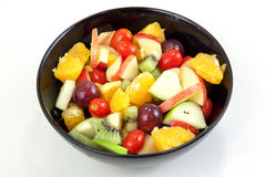 Apple and other fruits salad stock photos