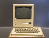Apple-(oude) computer stock afbeelding