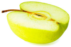 Apple over white Royalty Free Stock Photo