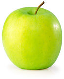 Apple over white background Royalty Free Stock Photos