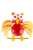 Apple owl Royalty Free Stock Image
