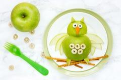 Apple owl Stock Photography