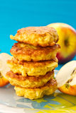 Apple pancakes Stock Photography