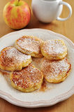 Apple Pancakes Royalty Free Stock Photography