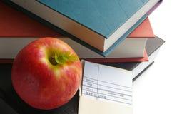 Apple para o professor Fotografia de Stock Royalty Free