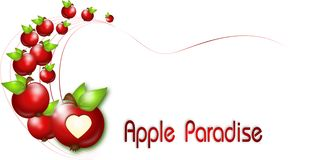 Apple-Paradijs Royalty-vrije Stock Foto