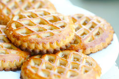 Apple pastries Stock Photography