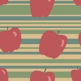 Apple-Patroon Royalty-vrije Stock Afbeeldingen