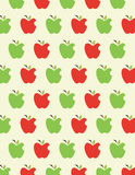 Apple pattern background Stock Images