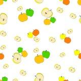 Apple pattern Stock Photography