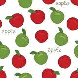Apple pattern Stock Photos