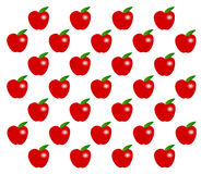 Apple pattern Royalty Free Stock Images
