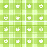 Apple pattern Stock Images