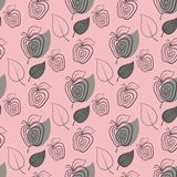 Apple pattern seamless Royalty Free Stock Photos