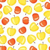 Apple pattern Royalty Free Stock Photos