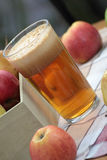 Apple and pear juice. Stock Photo