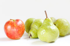 Apple and pears Royalty Free Stock Photo